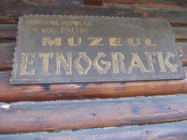 Village Museum Collection - founded in 1973 - director  - PALTIN, Vrancea - comunal - Etnografie locală